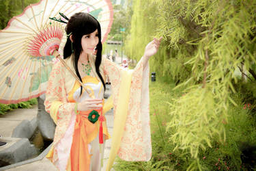 Chinese Paladin - TangYuRou by Xeno-Photography