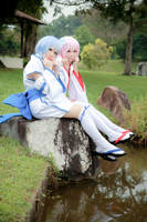 Re: Zero Kara Hajimeru Isekai Seikatsu - Ram x Rem by Xeno-Photography