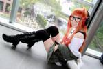 Persona 5 - Sakura Futaba by Xeno-Photography