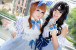 Cardcaptor Sakura - Sakura x Tomoyo by Xeno-Photography