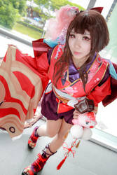Onmyoji - Kagura by Xeno-Photography