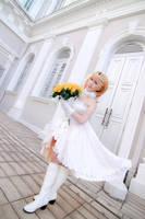 Love Live! - Wedding Kousaka Honoka by Xeno-Photography