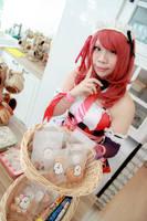 Love Live! - Valentine's Day Maid Nishikino Maki by Xeno-Photography