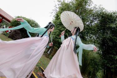 Hanfu - Sisters by Xeno-Photography