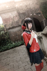 Danganronpa - Harukawa Maki by Xeno-Photography
