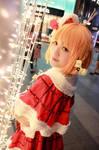 Love Live Sunshine! - Christmas Takami Chika by Xeno-Photography
