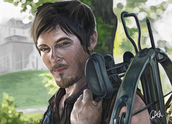 Daryl Dixon: The Walking Dead by CourtneyBowen
