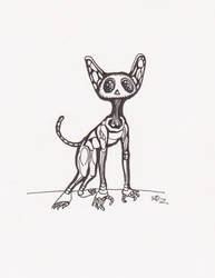 Robot dawg by hyperheroman