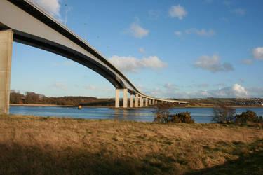 Foyle Bridge by betweentwowinters