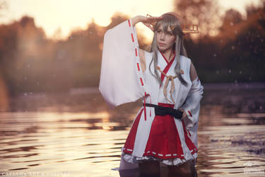 Haruna - Kantai Collection by Miss-Fairy-Floss