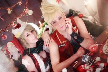 Merry Christmas - Final Fantasy XV by Miss-Fairy-Floss