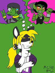 Who to Choose?(TA To DrPstripes) by MC4E84