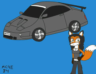 Annie And Her Car(GF To KaidoBattleFan2002) by MC4E84