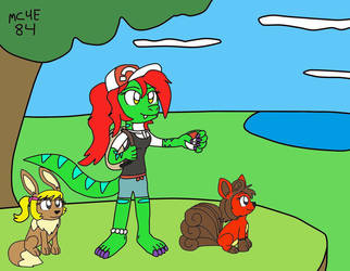 Let's Go Linzie And Friends by MC4E84