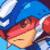 Star Force Mega Man (SF3) Emoticon by MetalSonic30
