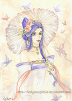butterfly of saiunkoku by LadyKnightLia