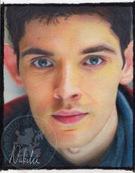 Merlin - Oil Pastels by NataliesCourageClub