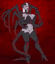 Spider demon by SurrealKatie