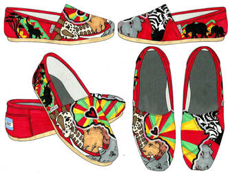 TOMS Shoes Africa Theme by SuiGeneris-Art