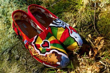 I Love Africa TOMS by SuiGeneris-Art