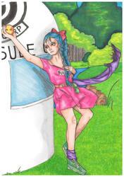 Bulma and the Dragon Ball by SuiGeneris-Art
