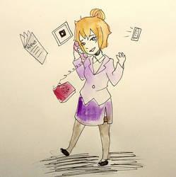 Day 5 Inktober: Socialite Witch by MidoriAoki