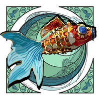 nouveau Koi by KettleOFish