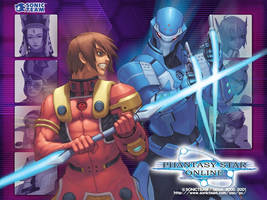 Phantasy Star 2 Wallpaper by Club-of-Algol