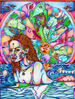 Siren Song by lauraborealisis