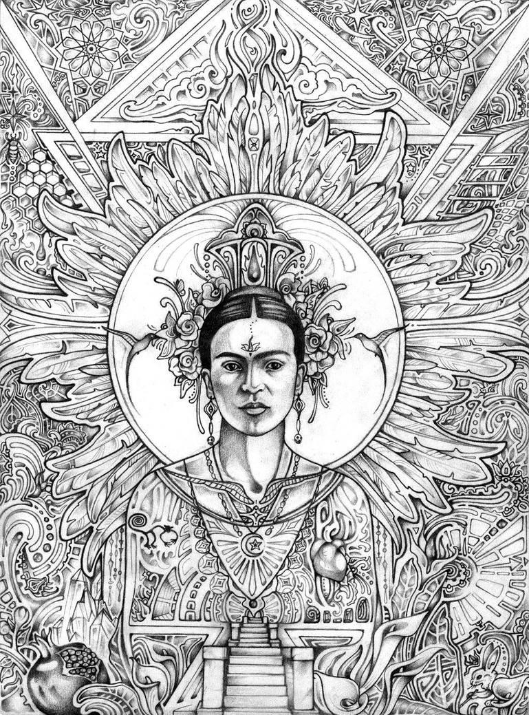 Frida by lauraborealisis