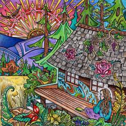 Valley of Dreams (color) by lauraborealisis
