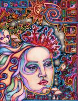 Teonanacatl Dream by lauraborealisis