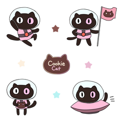Cookie Cat! by sunminny