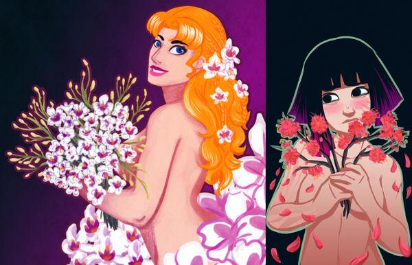 Entervoid: Flower Theme by JCathryn