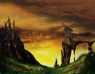 Old Windmill by johnblunt