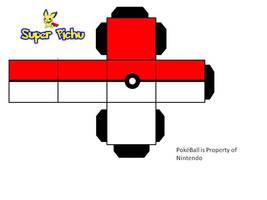 PokeBall Paper Craft by Super-Pichu