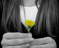 A Little Piece of Sunshine by overcoming-silence