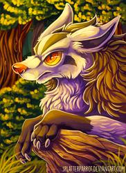 Mightyena! by SplatterParrot