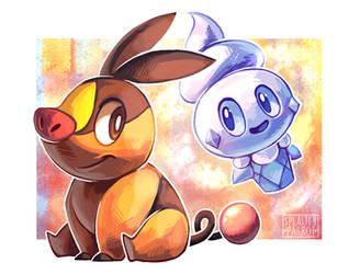 Goodie and Nexus! by SplatterParrot
