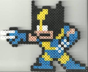 Wolverine by Ravenfox-Beadsprites