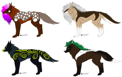 Wolf adopts [2/4 OPEN] by TheArk-Walker