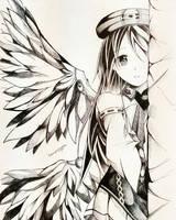 cute anime girl by somprava7