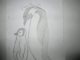 Penguin By 97rg75-d6ttzml by T-art-freak