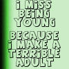 Icon: I Miss Being Young by saiyan-queen-vega