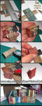 Printable miniature Books Covers tutorial by AnnaBellLeeArt