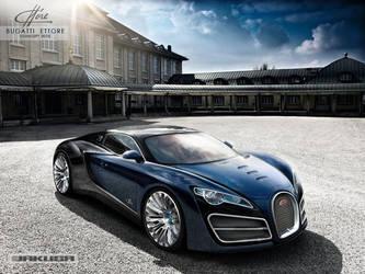 Bugatti Ettore Concept 2010 by Jakusa1