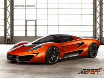 McLaren M7GT Concept by Jakusa1