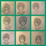 Sevenwaters doodles by joofdornes