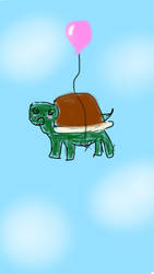 Flying Tortoise by maiolabelle