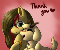 Thank you snugs by Mimkage